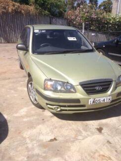 2003 Hyundai Elantra XD GLS Green 4 Speed Automatic Hatchback Wentworthville Parramatta Area Preview