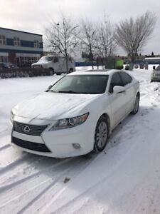 2014 Lexus ES 350 Loaded Low km White Pearl