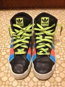 Ladies Size 8 Adidas Hightop Sneakers St. John's Newfoundland image 2