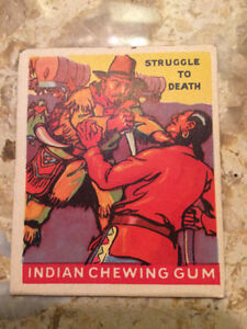 1947 Goudey Indian Gum Cards - Lot of 13