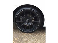 "19"" AMG mercedes wheels and tyres"