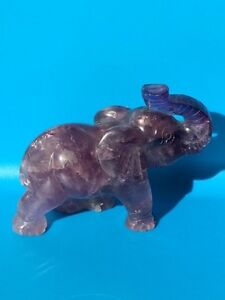 Canadian amethyst carving