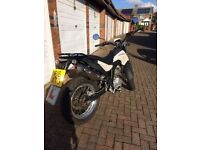 heres my 125 derbi cross city 15 plate with private reg, comes with year n half mot very clean bike