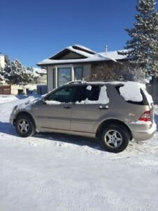 2001 Mercedes-Benz M-Class Gold SUV, Crossover