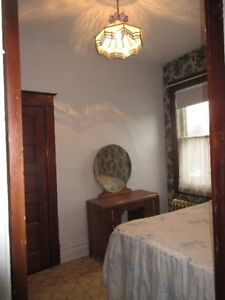 Bright one bedroom fully furnished studio apartment.