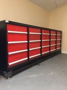 Brand New 20 Drawer Steel Work Benches (RED & BLUE AVAILABLE!!!)