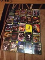 Lot of Regular XBOX Game, Accessories Controller