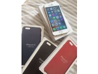 iPhone 6s unlocked perfect conditions + 3 phone cases apple