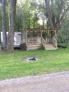 32 ft Trailer for sale on Rice Lake in Bewdley, ON. -$2500.00 (O Peterborough Peterborough Area image 2