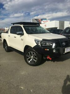 2018 Toyota Hilux GUN126R SR5 Double Cab White 6 Speed Sports Automatic Utility Osborne Park Stirling Area Preview