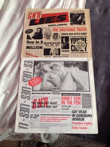 Gun and Roses Genuine Inconic Albums