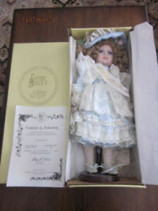 Limited Edition 1995 Eaton's Victorian Doll vintage new boxPleas