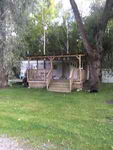 32 ft Trailer for sale on Rice Lake in Bewdley, ON. -$2500.00 (O Peterborough Peterborough Area image 3