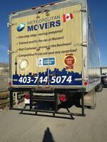 Calgary movers call for best offer
