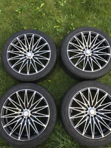 Universal Zen Rims with Low Profile Tires