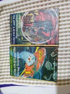 Tom Swift - youth, adventure, fiction book