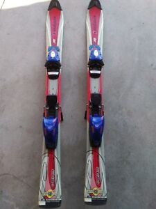Kids 97cm Downhill Ski's And Bindings