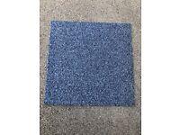 Grade A Blue Carpet Tiles £1 each