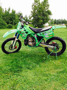 993 kx 250 two stroke works perfect needs nothing sell/trade