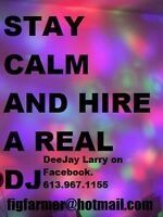 DJ LARRY; for all your sound and lighting needs