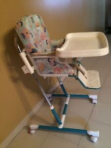Peg perego high chair with 4 positions