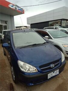 2008 Hyundai Getz TB MY09 S Blue 4 Speed Automatic Hatchback Fyshwick South Canberra Preview