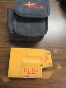Pacific Laser Systems PLS3 Laser Level Tool, Yellow