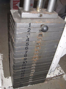 Lat Pull-Down Machine With Stacked Weights Kingston Kingston Area image 2