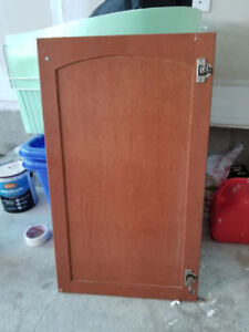 Cabinet Doors+Counter top + double sink with in mint condition
