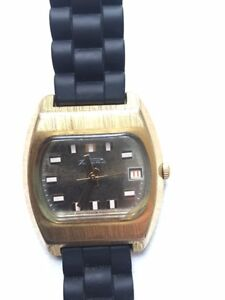 Vintage gold-plated mechanical watch (1970's)