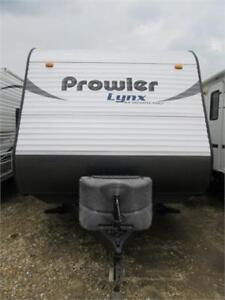 PRE OWNED 2014 PROWLER 25 LX TRAVEL TRAILER (TT)