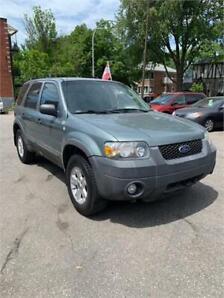 2007 Ford Escape XLT 3.0L 4X4 157000KM AUTOMTIQUE, STARTER