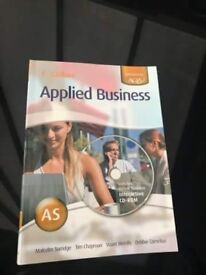 Collins applied business AS book
