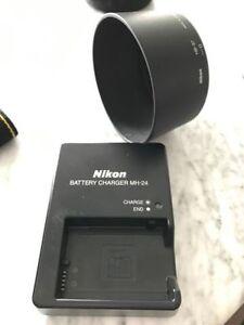 Nikon D3100, two lenses, bag + more Stratford Kitchener Area image 7