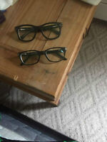 Selling 2 pairs of glasses - $80 for both
