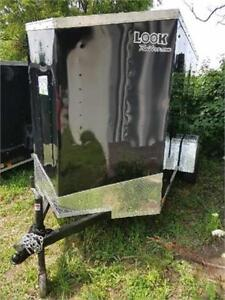 2018 AND 2019 5X10 +2FT V NOSE ENCLOSED TRAILERS AVAILABLE
