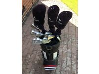 Wilson Walter Hagen Professional Men's R/H Golf Clubs / Maxfli Golf Bag