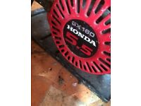 Honda Generator, site generator, petrol generator