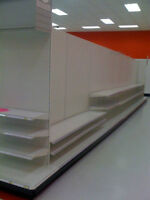 Retail Gondola Shelving, gently used in like new condtion