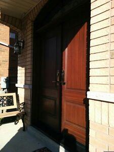 Fiberglass exterior Entry Door Replacement