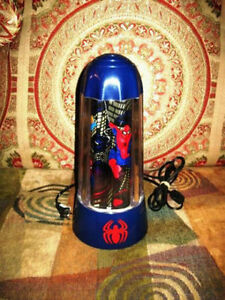 Marvel 1994 Collectible Spider-Man Motion Lamp Light