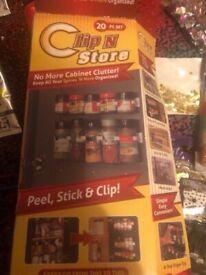 Herb spice rack