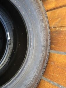 4 All-Season BF Goodrich Touring Tires - almost brand new