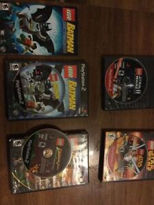**LEGO GAMES FOR PS2**