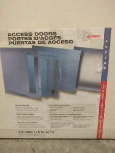 "I have four, 36"" X 36"" access panels and one 24"" X 24"" access p"