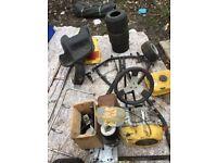 Petrol GO KART parts/project
