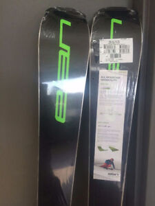 Elan Amphibio 76 Fusion Skis + EL 10.0 Ski Bindings 160cm -NEW-
