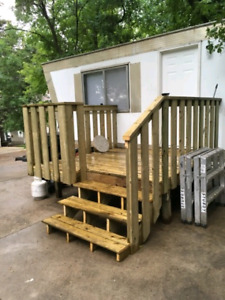 Mobile home for rent at Lac Pelletier