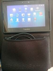 PLAYBOOK TABLET/32 GB COVER N CASE/CHARGER/$80 GOOD COND.