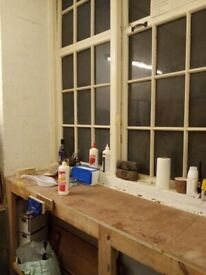 West End located well appointed workshop/studio or potential office